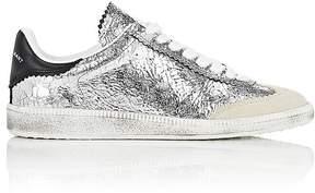 Isabel Marant Women's Beth Craquelé Leather Sneakers