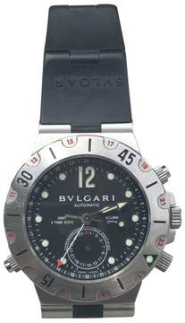 Bulgari Bvlgari Diagono Pro Acqua GMT Scuba SD38S Stainless Steel 38mm Watch