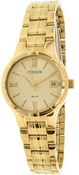 Citizen Women's EU6022-54P Gold Stainless-Steel Quartz Fashion Watch