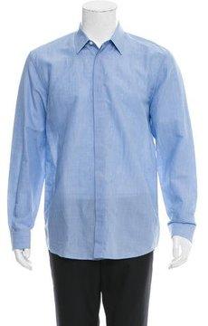 Marc Jacobs Linen-Blend Button-Up Shirt w/ Tags