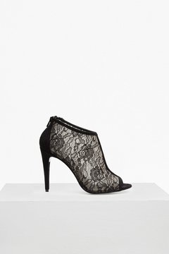 French Connection Quiana Peep Toe Bootie Heels
