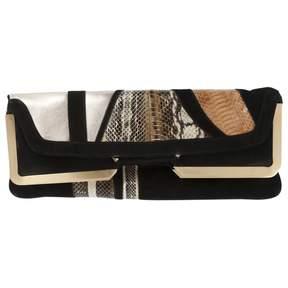 Diane von Furstenberg Black Suede Handbag