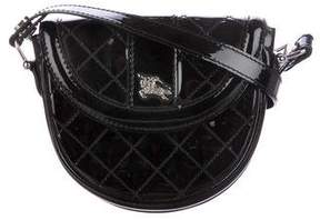 Burberry Quilted Patent Crossbody Bag
