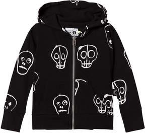 Nununu Black Skull Mask Hoodie