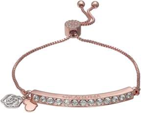 Brilliance+ Brilliance Rose Gold Tone Grandma Adjustable Bracelet with Swarovski Crystals