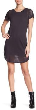 Michael Stars Scoop Neck Mesh Tee Dress