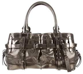 Burberry Laser Cut Leather Bag