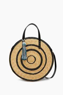 Rebecca Minkoff | Straw Circle Tote - NATURAL - STYLE