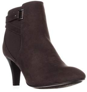 Karen Scott Ks35 Majar Back Strapped Ankle Booties, Grey.