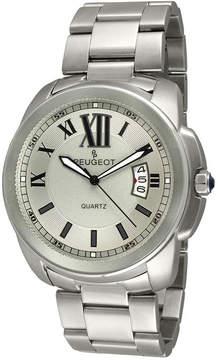 Peugeot Mens Stainless Steel Bracelet Watch 1047SS