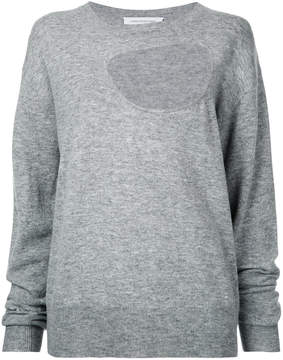 CHRISTOPHER ESBER reversible negative space jumper