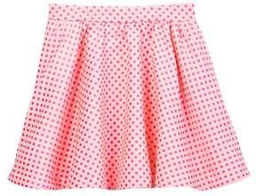 Kate Spade coreen dot jacquard skirt (Big Girls)