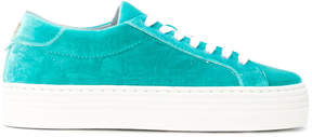 Chiara Ferragni velvet sneakers