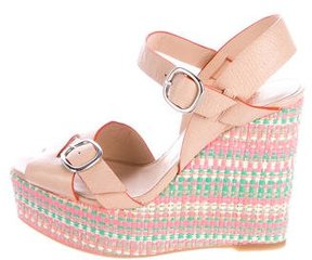Castaner Platform Wedge Sandals