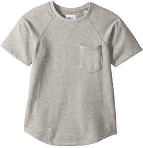 Hudson Raglan Short Sleeve Shirt Boy's Short Sleeve Pullover