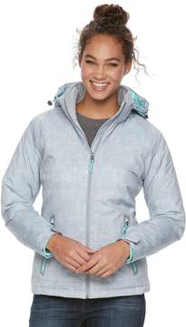 Free Country Women's Hooded Soft Shell Puffer Jacket