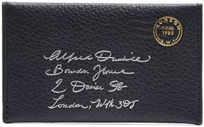 Dunhill Boston leather envelope cardholder