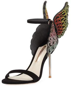 Sophia Webster Evangeline Crystal Angel Wing Sandal