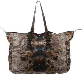 Jerome Dreyfuss Printed Nylon Tote