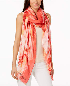 Calvin Klein Painterly Ombre Chambray Cover Up & Wrap, Created for Macy's