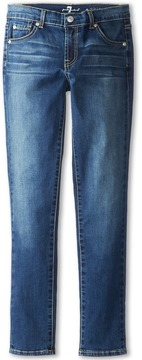 7 For All Mankind Kids Skinny Jean in Nouveau New York Dark (Big Kids)