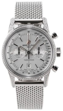 Breitling TransOcean Chronograph 38 Stainless Steel 38mm Watch