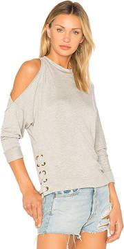 Ella Moss Cold Shoulder Sweatshirt