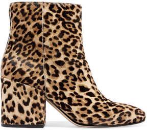 Sam Edelman Taye Leopard-print Calf Hair Ankle Boots - Leopard print