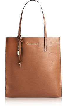 Marc Jacobs Saddle Leather The Grind Shopper Tote Bag - ONE COLOR - STYLE