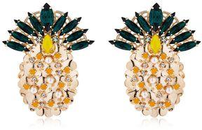 Anton Heunis Pandora's Box Pineapple Earrings