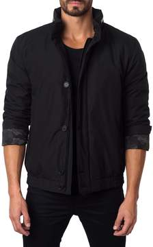 Jared Lang Men's Hooded Stand Collar Jacket