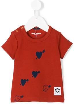 Mini Rodini heart print T-shirt
