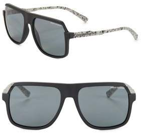 Armani Exchange 59MM Square Sunglasses
