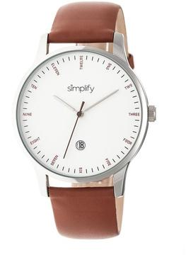 Simplify The 4300 Collection SIM4302 Stainless Steel Analog Watch