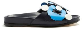Anya Hindmarch Radius leather slides