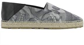 Alexander McQueen Men's Grey Fabric Espadrilles.