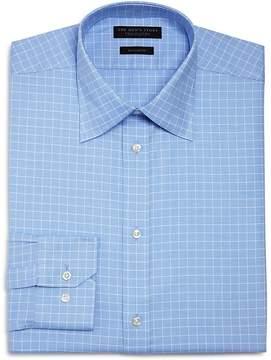 Bloomingdale's The Men's Store at Micro Windowpane Regular Fit Dress Shirt - 100% Exclusive