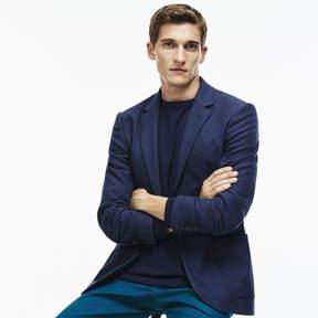 Lacoste Men's 2-button Cotton Blend Piqu Suit Jacket
