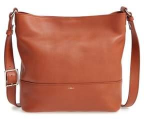Shinola Small Relaxed Leather Hobo Bag - Brown