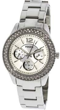 Fossil Women's Stella Stainless Steel Watch,