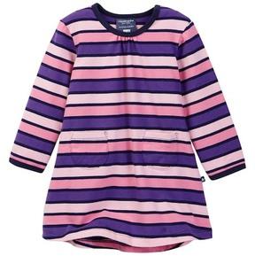 Toobydoo Harper Striped Pocket Dress (Baby & Toddler Girls)
