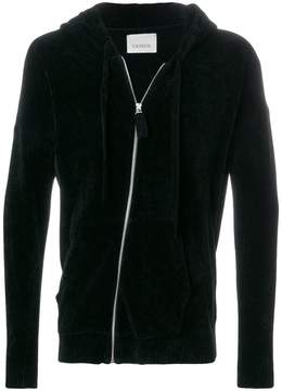 Laneus zipped hoodie