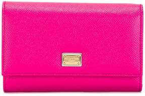 Dolce & Gabbana Dauphine wallet - PINK & PURPLE - STYLE
