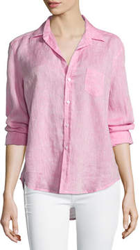 Frank And Eileen Eileen Button-Front Shirt, Pink