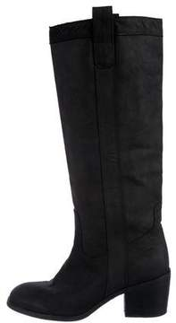 Eileen Fisher Leather Knee-High Boots