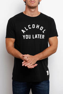 Original Retro Brand Alcohol You Later Graphic Short Sleeve Tee