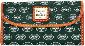 Dooney & Bourke NFL Jets Continental Clutch - JETS - STYLE