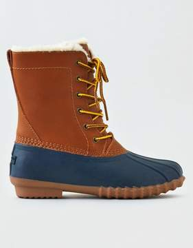 American Eagle Outfitters AE Lace-Up Duck Boot