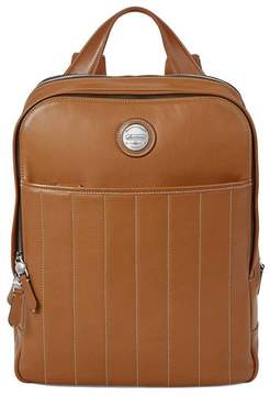 Aspinal of London Aerodrome Backpack In Smooth Tan