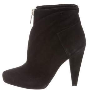 Proenza Schouler Suede Zip-Up Ankle Boots w/ Tags